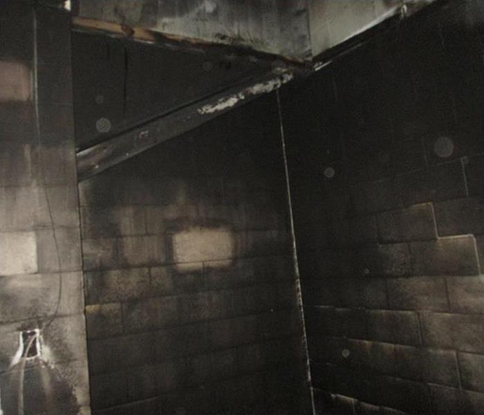 Fire Damage in Snohomish School Before