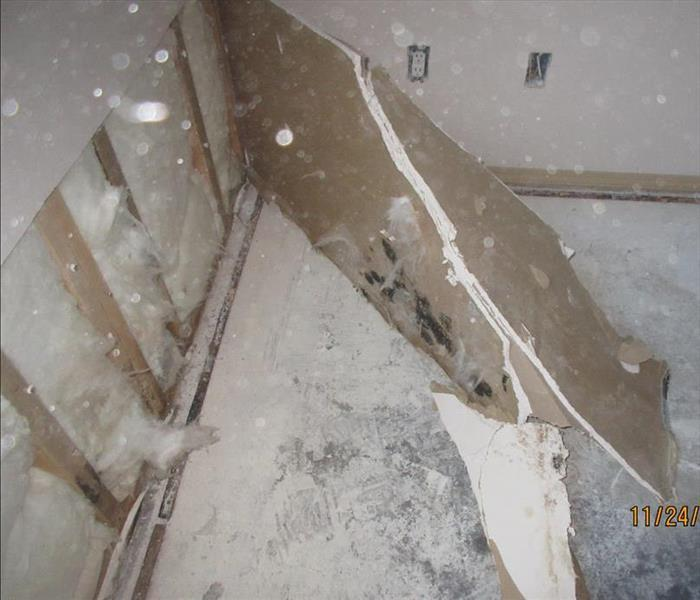 Water Damage Leads to Mold