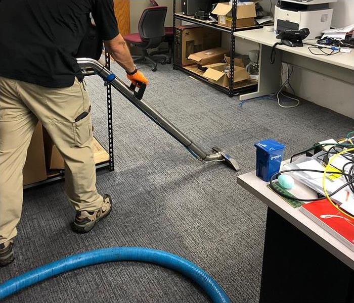 Water Extraction on Carpet in Snohomish